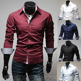 Discount Mens Designer Button Down Shirts | 2017 Mens Designer ...