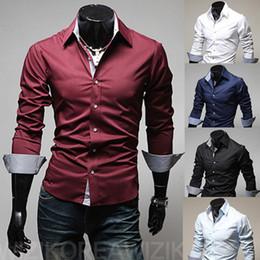 Discount Plus Size Mens Button Down Shirts | 2017 Plus Size Mens ...