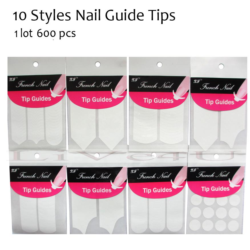 Wholesale Hotsale Tip Guides/ French 3d Nail Sticker Tools Wholesale ...