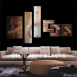 Wholesale Large Canvas Wall Art Wholesale - Wholesale-Free Shipping 100%Handmade Textured Modern Oil Painting On Canvas Large Wall Art Top Home Decoration OSM Abstract Metal Wall Art