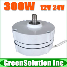 Wholesale Uses For Wind - Wholesale-Free Shipping, 300W AC12V 24V Low rpm Permanent Magnet Generator   Wind Alternator used for DIY Wind Power Turbine