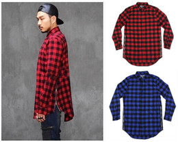 Red Flannel Shirt Men Fashion Reviews | Men Euro Fashion Buying ...