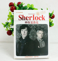 Wholesale NEW British TV Characters Sherlock Postcards Greeting cards Message cards Collection cards