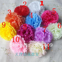 Wholesale Silk Flower Simulation Flowers Artificial Flower Heads Flower For Scrapbooking Wedding Celebrations Supplies