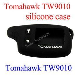 Wholesale Cheap Way Car Alarms - Wholesale-2015 Free Shipping Cheap TW9010 Silicone case for Tomahawk TW9010 TW9020 TW4000 TW7010 Lcd two way car alarm system