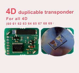Wholesale Duplicable Transponder - Wholesale-MOQ: 1 PC 4D Duplicable Transponder chip for car keys