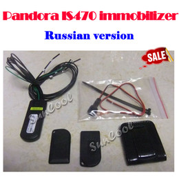 Wholesale Remote Unlock - Wholesale-Free shipping TAMARACK Immobilizer Pandect IS- 470 Pandora is 470 car alarm immobilizer Remote control unlock lock engine