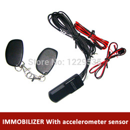 Wholesale Rfid Cars - Wholesale-free shipping RFID 2.4 GHz car immobilizer system with accelerometer sensor