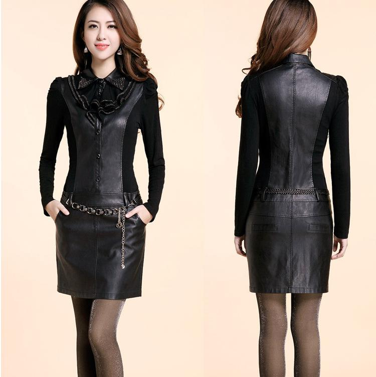 Leather Dress for Juniors