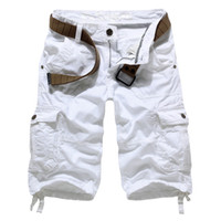Wholesale Military Uniform For Men - Wholesale- New korean style large size male casual multi-pocket shorts military uniform shorts men,Multi-pocket cargo shorts for men