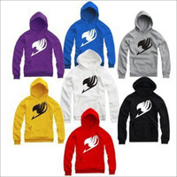 Wholesale Japanese Hoodies For Men - Wholesale-Free Shipping high quality 2015 new sale japanese anime Fairy tail pullover for Spring Autumn winter Fairy tail hoodies 8 color