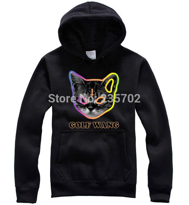 de67c4f3107a4f 2019 Wholesale Odd Future Hoodie Donuts OFWGKTA Hoodie GOLF WANG Sweatshirt  Skateboard Tide Hoodie Cat From Sandlucy