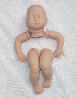 "Wholesale Reborn Doll Parts - Wholesale-Reborn baby dolls kit vinyl head 3 4 arms and Chubby Legs for 14"" lifelike dolls kit parts"