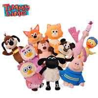Wholesale Peppa Toys - Wholesale-Shaun The Sheep Timmy Time Classmates friends peppa cute timmy sheep plush doll for baby toys Christmas New Year gifts