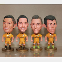 Wholesale Cristiano Ronaldo Figure Toy - Wholesale-world cup 2015 souvenirs real madrid palyer dolls action figure toy soldiers kodoto brazil juguetes cristiano ronaldo