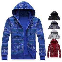 Wholesale Christmas Couple Hoodies - Wholesale-2015 Christmas snow couple hoodies men's jackets men's casual hoodie jacket casual hoodie men free shipping