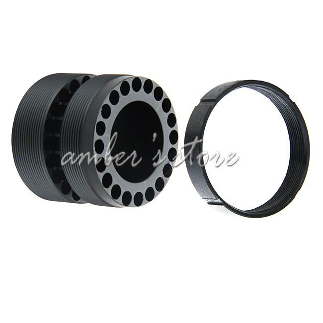 Wholesale-Free Shipping Tactical Free Floating Quad Rail Threaded Barrel Nut for AR 15/.223/5.56 Quadrail+ Jam Ring