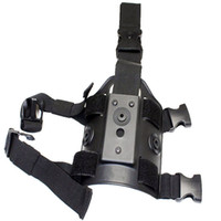 Wholesale Drop Leg Holster Platform - Wholesale-Polymer Retention Roto Tactical Airsoft Paintball Drop Leg Holster Panel Platform