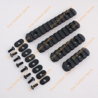 Wholesale Drss Handguard - Wholesale-Drss Good Quality 4-Piece Rail Set For MP PTS M-O-E Handguard Black(DS3520A)