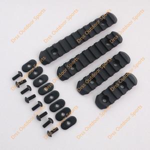 Wholesale-Drss Good Quality 4-Piece Rail Set For MP PTS M-O-E Handguard Black(DS3520A)