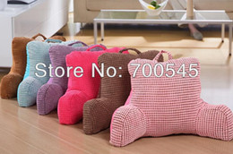 Wholesale Pregnant Pillows - Wholesale-Bedrest Pillow to watch TV and read in bed cotton Seat Back Cushion Middle Niblet Design for pregnant woman