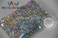 Wholesale Color Gels Nail Glitter - Wholesale-1.5MM Laser Silver Color Glitter Powder,holographic Glitter for nail gel or Other Decoration 1Pack=50g