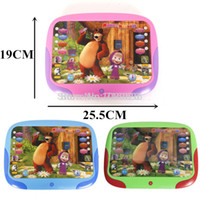 Gros-russe Langue Machines d'apprentissage Toy Parler Masha And Bear Jouets LearningEducation électronique interactif