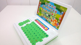 Wholesale Children Intelligent Learning Machine - Wholesale-kids intelligent study laptop computer educational learning machine for children cartoon look baby toys with music game
