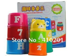 Wholesale Interesting piles Cup training practical hands on ability educational toys