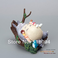 Wholesale Super Mario Free Shipping Figures - Wholesale-Free Shipping Hayao Miyazaki Totoro PVC Action Figure Toy MHFG006