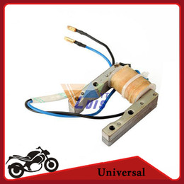 Wholesale Dirt 49cc - Wholesale-49CC- 80CC 2 Stroke Engine Magneto Stator Coil for Motorcycle Motorized Bicycle Dirt Bike Quad ATV Scooter DC12V