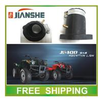 Wholesale Manifold Intake - Wholesale-JIANSHE 400cc ATV ATV400-2 intake pipe manifolds EURO II accessories free shipping