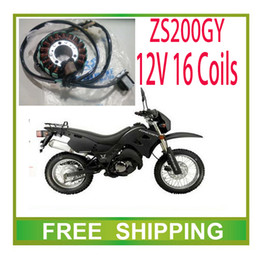 16 engine 2019 - Wholesale-ZS200GY 250GS LY200 zongshen 200cc 250cc engine stator magneto coil 12v 16 coils accessories free shipping che