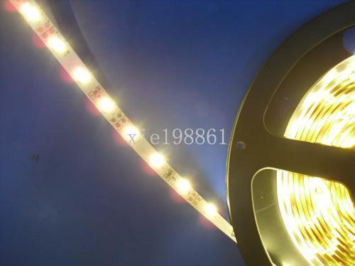 5m 300leds Warmes weißes smd 3528 nicht wasserdichtes LED-Streifen-Licht