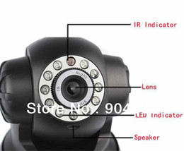 Wholesale Pts Wifi Dome - Wholesale-NEO CCTV indoor PT Wireless IP Camera Dome Dual Audio Security Video Surveillance Pan Tilt Plug N Play P2P Wifi Camera