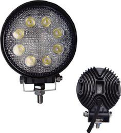 Wholesale Work Led 24w - 24w hight power LED work light,auto LED lamp,LED off road light ,round ,flood beam,for SUV
