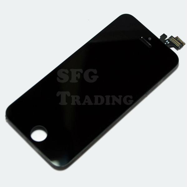 Móviles y telefonía Display para iPhone 5 retina LCD táctil frente de cristal touch completo negro