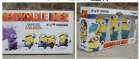 Wholesale Despicable Minion Doll Plastic - Wholesale-Free shipping 2015 Newest Despicable Me 2 minion electronic classic toys doll model movie toy with light sing for kids 3p flying