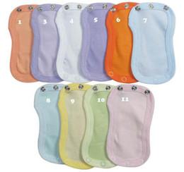 Wholesale Light Pink Extensions - Romper Extension Pad baby clothes accessories twenty colors 100% cotton 100pcs per lot mix color white green pink blue purple
