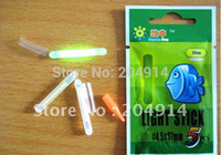 Wholesale Chemical Green Stick - Wholesale-100pcs X 4.5mm*37mm High Quality Chemical Lights in Green Colour Glow Sticks For Fishing Special Offer with Free Postage!!