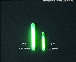 Wholesale Glow Bait - Wholesale-50Pcs Fishing Night Fluorescent Light Float Glow Stick Lightstick 4.5*37mm