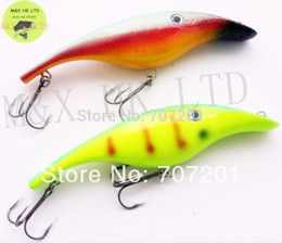Soft Bait Pike Canada - Wholesale-1PC MUSKY PIKE MUSKIE PLASTIC MAGIC MAKER JERK GLIDE BAIT GLIDER FISHING LURE SHAD 180mm 2.2oz 3D Eyes