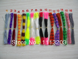 Wholesale Skirt Fishing Baits - Wholesale-2015 new DIY Fishing accessories Squid rubber thread silicone skirt 13 cm Free shipping