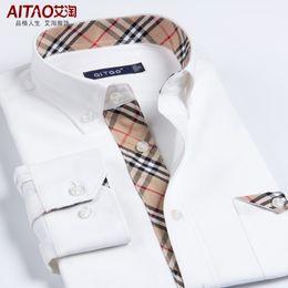 Discount White Mens Iron Dress Shirts | 2017 White Mens Iron Dress ...