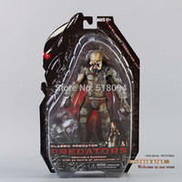 "Wholesale Predator Toys - Wholesale-Free Shipping NECA Predator Movie Series 1 Classic Predator PVC Action Figure Model Toy 8""20cm MVFG110"