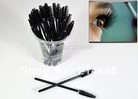 Wholesale Mini Wands - Wholesale-100 PCS Disposable Eyelash Mini Brush Mascara Wands Applicator Spoolers Makeup DropShipping