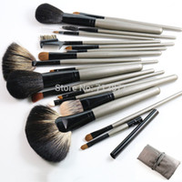 Wholesale Makeup Brushes Kolinsky Hair - Wholesale-Premium Makeup Brushes Set 18pcs Kolinsky Hair Makeup Brushes Beauty Tool