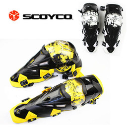 Wholesale Scoyco Elbow - Wholesale-Newest Upgrade Motorcycle Knee Protector Cycling Guard Moto Protective Kneepad Gear&Accessories Scoyco K12