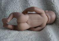 Wholesale Reborn Limbs - Wholesale-Hot Sale 10'' Reborn doll kit -Full Limb # GIRL BABY#CLOSED EYES