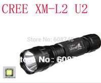 Wholesale Ultrafire Xm L U2 - Wholesale-Free shipping NEW 1800lm UltraFire 501B U2 CREE XM-L L2 U2 LED Flashlight Torch